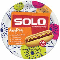 Solo Paper Plates, Any Day, 8.5 Inch