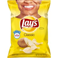 Lay's Classic Potato Chips, 8 oz Bag