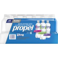 Propel Workout Water Variety Pack, 16.9 Fl. Oz., 18 Count