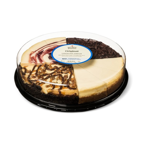 Everyday Variety 9' Cheesecake With Turtle - 40oz - Archer Farms™