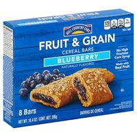 Hill Country Fare Fruit & Grain Blueberry Snack Bars