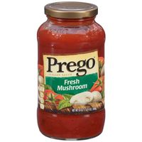 Prego® Pasta Sauce, Italian Tomato Sauce with Fresh Mushrooms