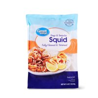 Great Value Squid Rings & Tentacles, 1 lb