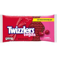 Twizzlers Candy, Cherry, Twists