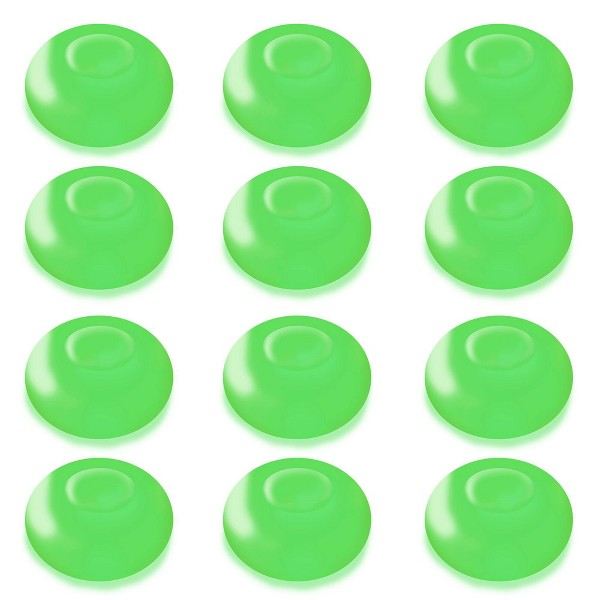 12ct Battery Operated Floating Blimp LED Lights Green