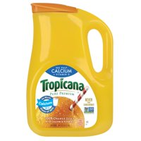 Tropicana, 100% Orange Juice Calcium + Vitamin D, No Pulp, 89 Fl. Oz.