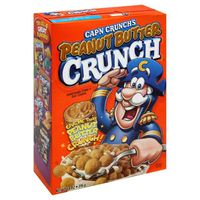 Cap'N Crunch Peanut Butter Crunch Sweetened Corn & Oat Cereal