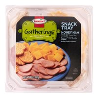 Hormel Gatherings Ham and Cheese Snack Tray; 14 oz.; Honey Ham, Sargento Cheddar Cheese, Crackers