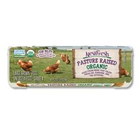 NestFresh Organic Pasture-Raised Grade A Large Brown Eggs - 12ct