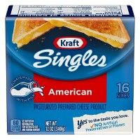 Kraft Singles American Cheese Slices - 16ct