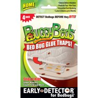 BuggyBeds Bed Bug Glue Traps Home, 4 Count