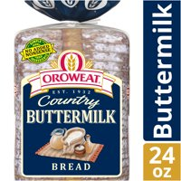 Oroweat Country Buttermilk Bread, Made with Real Buttermilk, 24 oz