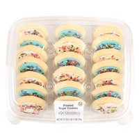 Freshness Guaranteed Multicolor Frosted Sugar Cookies, 27 oz, 20 Count