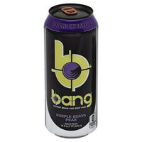 Bang Brain and Body Fuel, Potent, Purple Guava Pear