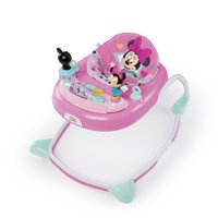 Bright Starts Disney Baby Minnie Mouse Walker with Activity Station - Stars & Smiles