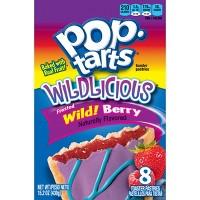 Pop-Tarts Wildlicious Frosted Wild Berry Pastries - 8ct/15.2oz - Kellogg's