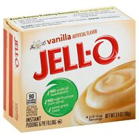 Jell-O Vanilla Instant Pudding & Pie Filling Mix