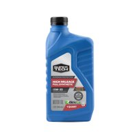 Super Tech SAE 5W-30 High Mileage Full Synthetic Motor Oil, 1 Quart