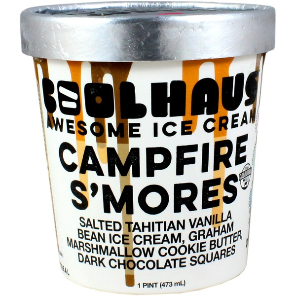 CoolHaus Ice Cream, Awesome, Campfire S'mores