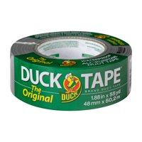 """Duck Brand 1.88""""x55 Yd. The Original Duct Tape, Silver, 3 Count"""