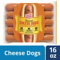 Oscar Mayer Uncured Cheese Hot Dogs, 10 ct - 16.0 oz Package