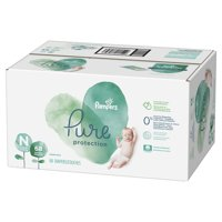 Pampers Pure Protection Newborn Diapers Size N 68 Count