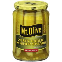 Mt. Olive Zesty Garlic Kosher Spears