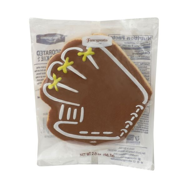 Fancypants baking co. Shelf Stable Cookies Baseball Mitt, 2 oz