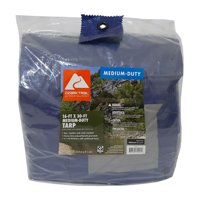 Ozark Trail Medium-Duty Tarpaulin, 16' x 30'