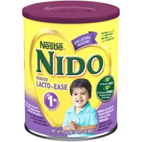 Nestle NIDO Lacto-Ease Whole Milk Powder 1.76 lb. Canister