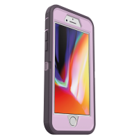 OtterBox Defender Series Pro Phone Case for Apple iPhone SE (2nd Gen), iPhone 8, iPhone 7 - Purple