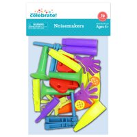 Way To Celebrate Noisemakers 18 Pack Assorted Party Favors