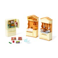 Calico Critters Kitchen Play Set, 10+ Furniture Accessories