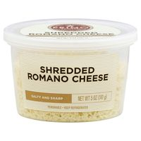 Signature Kitchens Cheese, Shredded, Romano