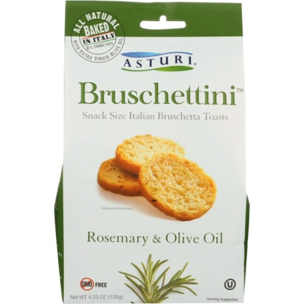 Asturi Bruschettini, Rosemary & Olive Oil