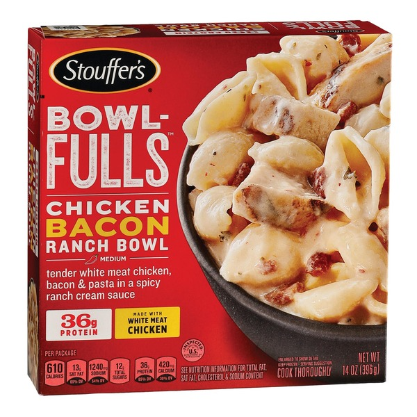 Stouffer's BOWL-FULLS Chicken Bacon Ranch Bowl