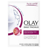 Olay Daily Clean 4 - in - 1 Water Activated Cleansing Cloths - 66ct