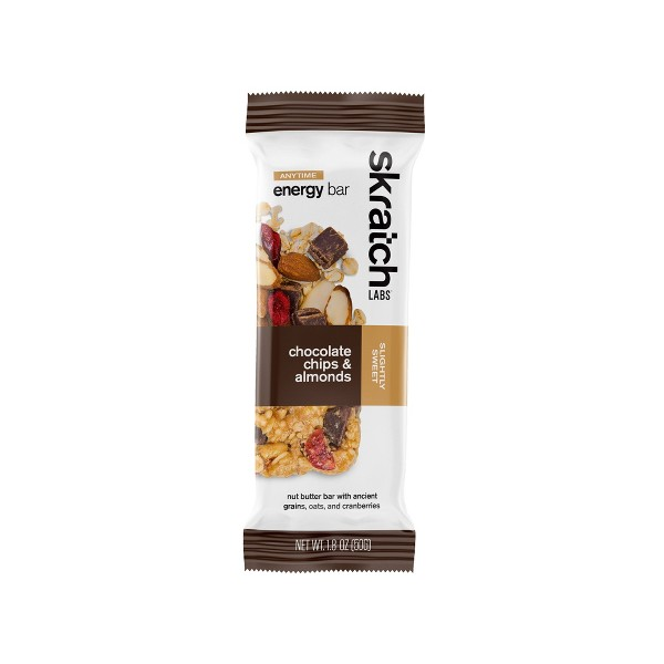 Skratch Labs Anytime Energy Bars Chocolate Chip Almond