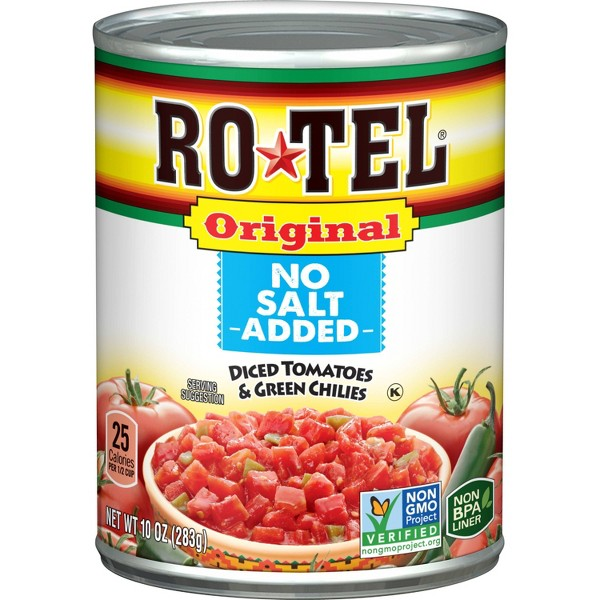 Rotel No Salt Added Tomatoes 10oz