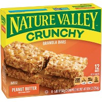 Nature Valley Crunchy Peanut Butter Granola Bars - 6ct