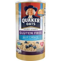 Quaker Oats Select Starts  Gluten Free Regular