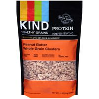 Kind Granola, Peanut Butter, Whole Grain Clusters