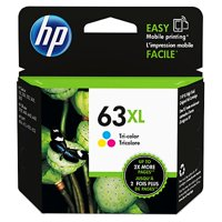 HP 63XL Tri-color Original Ink Cartridge (F6U63AN)