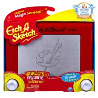 Etch A Sketch, Classic Red Drawing Toy with Magic Screen, for Ages 3 and Up