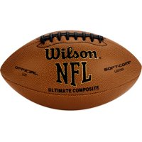 Wilson NFL Ultimate Tack Composite Football- Official Size