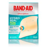 Band Aid Brand Hydro Seal Bandages Extra Large