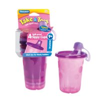 The First Years Take & Toss; Toss Hard Spout Sippy Cup, 4 Pk