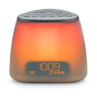iHome Zenergy Dream Mini iZBT7 Bluetooth Bedside Sleep Therapy Machine, Sound Therapy, Light Therapy, LED Color Blending, Bluetooth Speaker and Sleep Timer