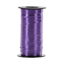 Offray 3/16 in. x 350 yd. Purple Curling Ribbon Spool
