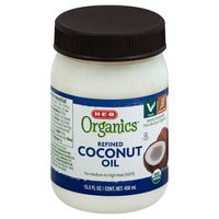 H-e-b Organics Refined Coconut Oil
